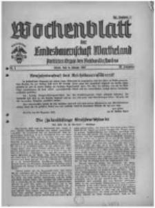 Wochenblatt der Landesbauernschaft Wartheland: amtliches Organ des Reichsnährstandes. 1941.01.04 Jg.39 nr1
