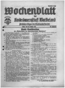 Wochenblatt der Landesbauernschaft Wartheland: amtliches Organ des Reichsnährstandes. 1941.01.18 Jg.39 nr3
