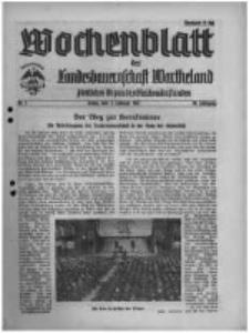 Wochenblatt der Landesbauernschaft Wartheland: amtliches Organ des Reichsnährstandes. 1941.02.01 Jg.39 nr5