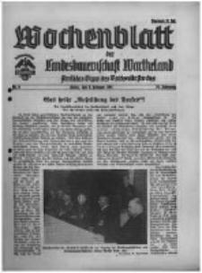 Wochenblatt der Landesbauernschaft Wartheland: amtliches Organ des Reichsnährstandes. 1941.02.08 Jg.39 nr6