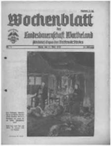 Wochenblatt der Landesbauernschaft Wartheland: amtliches Organ des Reichsnährstandes. 1941.03.15 Jg.39 nr11