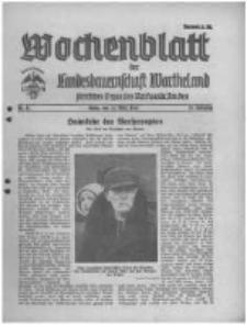 Wochenblatt der Landesbauernschaft Wartheland: amtliches Organ des Reichsnährstandes. 1941.03.22 Jg.39 nr12