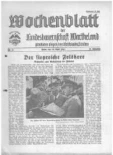 Wochenblatt der Landesbauernschaft Wartheland: amtliches Organ des Reichsnährstandes. 1941.04.19 Jg.39 nr16