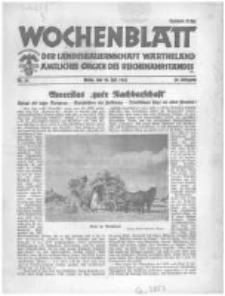 Wochenblatt der Landesbauernschaft Wartheland: amtliches Organ des Reichsnährstandes. 1941.07.26 Jg.39 nr30