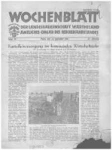 Wochenblatt der Landesbauernschaft Wartheland: amtliches Organ des Reichsnährstandes. 1944.09.16 Jg.42 nr38